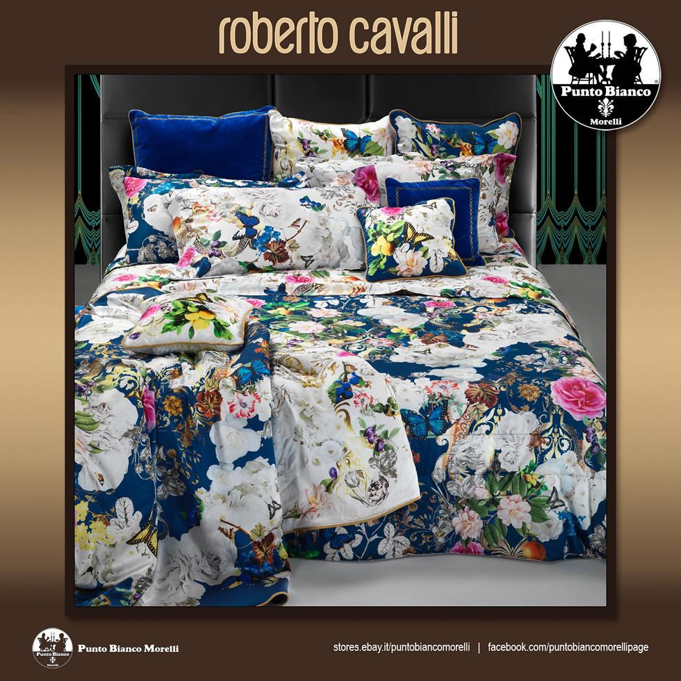 Riviera Home Collection Piumoni.Roberto Cavalli Home Blaze Full Duvet Cover Completo Copri Piumino Ebay