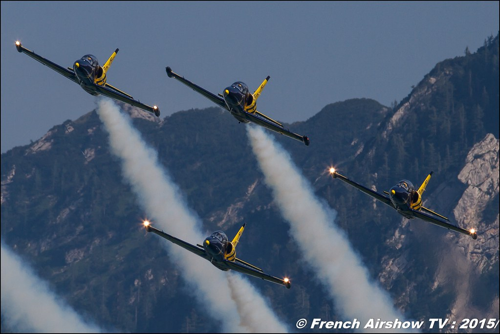 Baltic Bees aerobatic team , L-39 Albatros , Civilian jet display team, Sankt Wolfgang / St Wolfgang : Austria , scalaria air challenge 2015, Meeting Aerien 2015