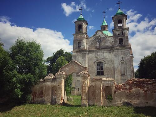 Benitsa: The Holy Trinity Church by Dmitry Shytsko