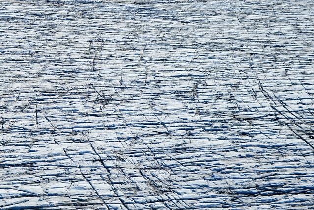 Gigantesca llanura de hielo