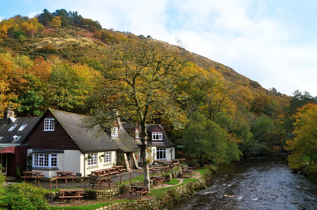 The Fingle Bridge Inn, River Teign, Devon