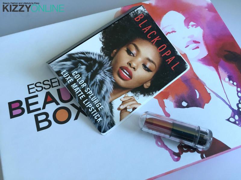 black opal ESSENCE beautybox subscription beauty box