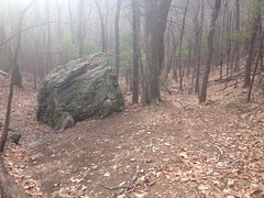 Rock on PR Gap Trail