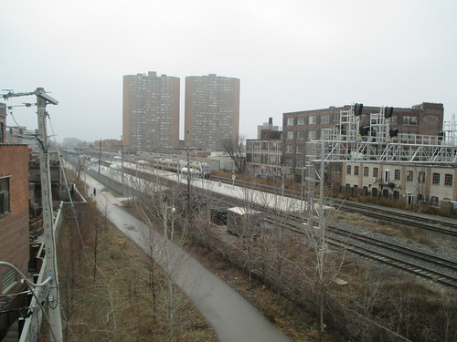 View from the Wallace Avenue Footbridge (2)