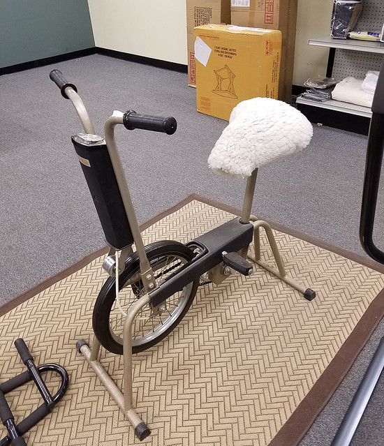 sheepskin exercycle seat