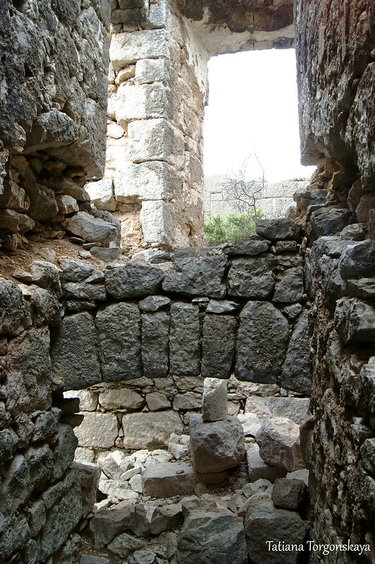 Внутри крепости Кличань