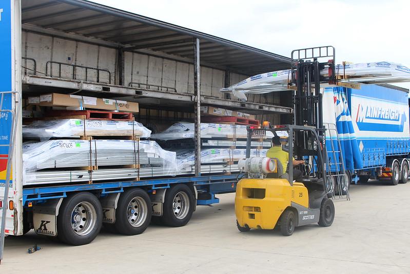 Spanbilt factory- transport