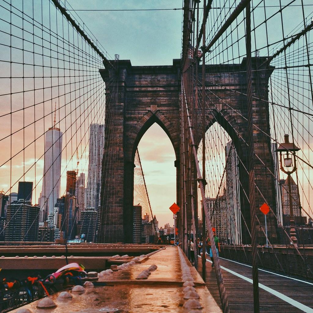 Ponte do Brooklyn.