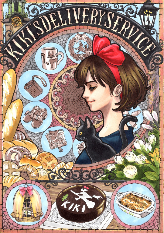 Kiki's Delivery Service by Takumi