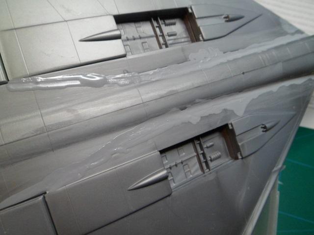 Pas-à-pas : Convair B-58 Hustler [Italeri 1/72] - Page 2 22892596060_2846543eb1_o