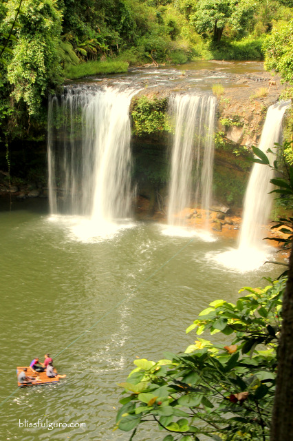Tad Champee Waterfalls Bolaven Plateau Laos