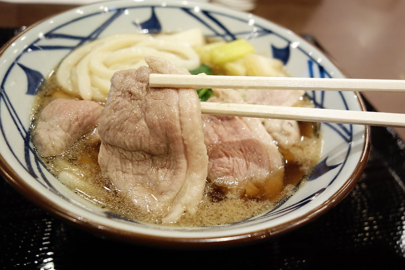丸亀製麺の鴨ねぎうどん試食会