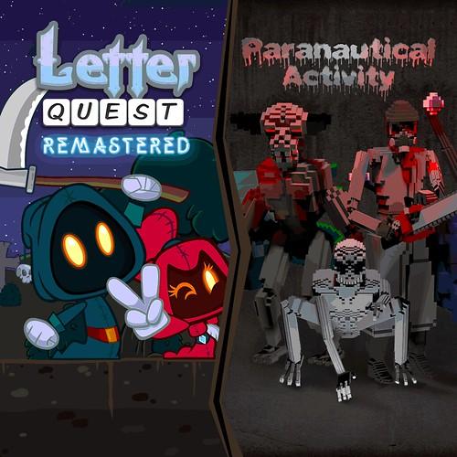 Letter Quest/Paranautical Activity Bundle