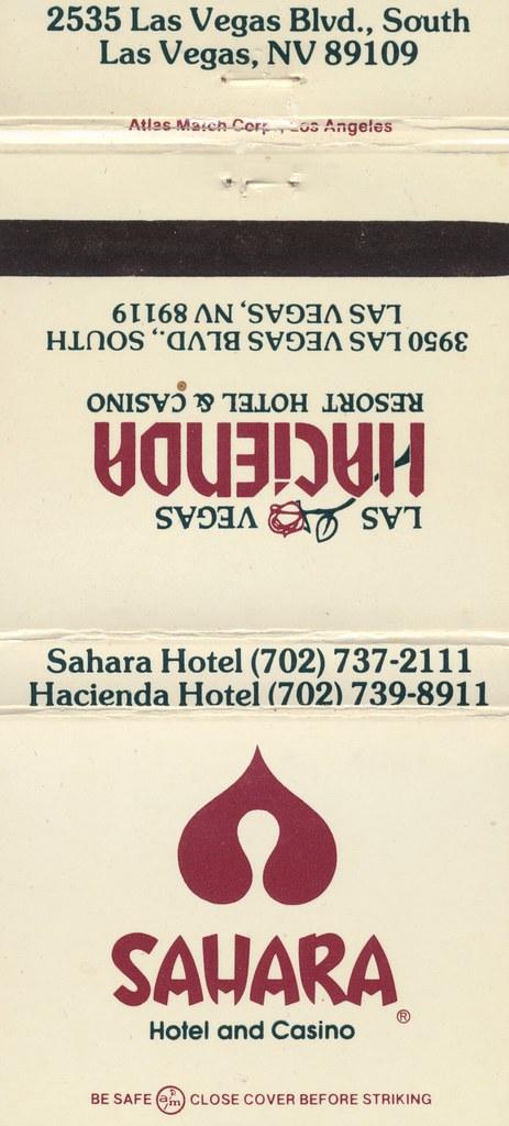Sahara Hotel & Casino - Las Vegas, Nevada