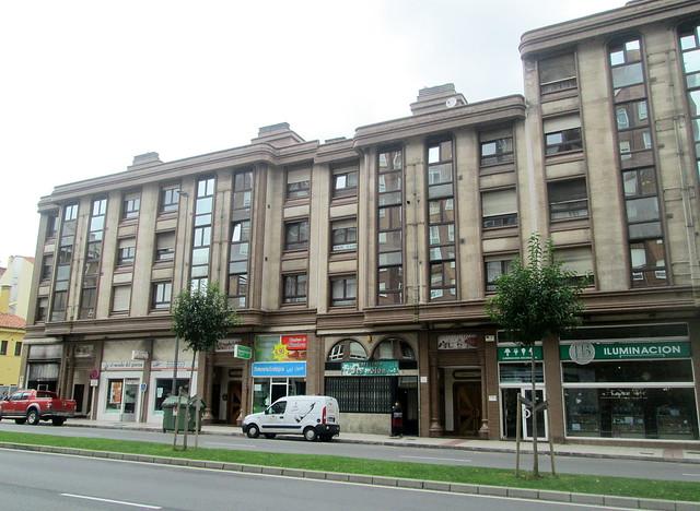 Deco Style Building, Avilés