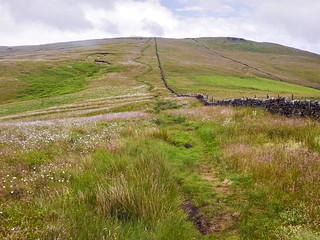 The path up to Shining Tor