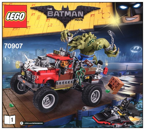 The LEGO Batman Movie 70907 Killer Croc Tail-Gator box11