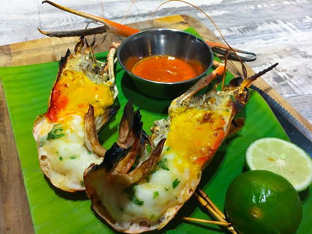 Bubu Grill Seafood Kepong Grilled Big Head Prawns