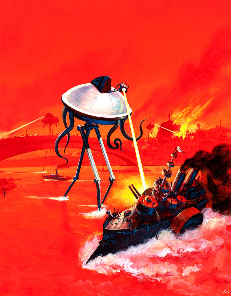 The War of the Worlds by HG Wells – review