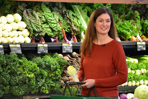 Oregon Department of Agriculture Director Katy Coba in a store