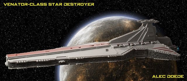 Venator-Class Star Destroyer, by Alec, on Flickr