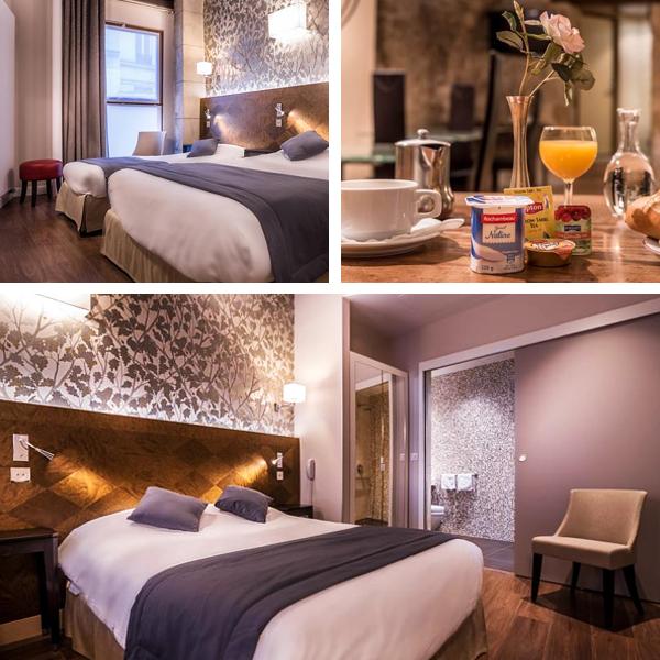 Hotel en París junto a los Jardines de Luxemburgo, el Hotel Senlis