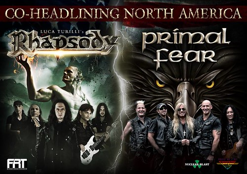 Rhapsody and Primal Fear at Baltimore Soundstage