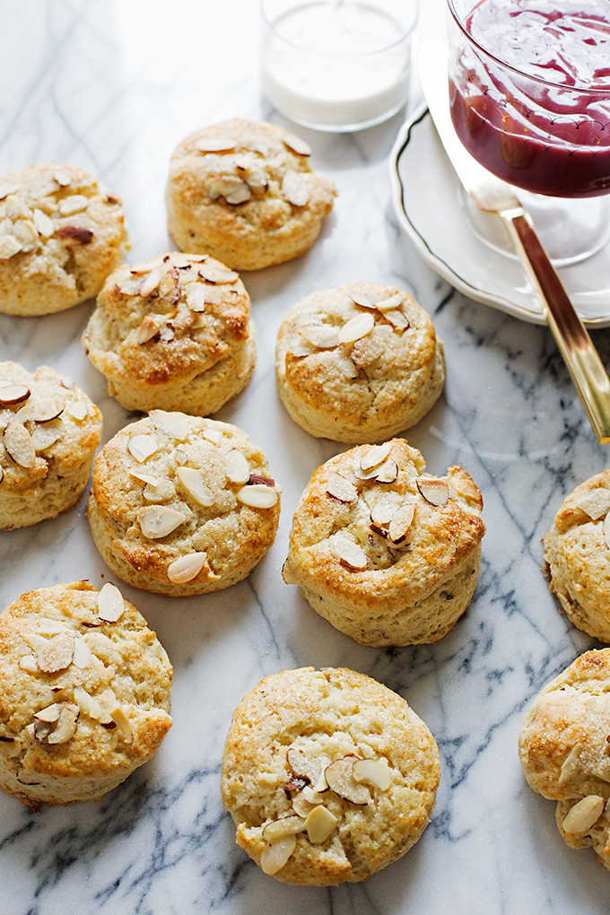 Eggnog and Almond Scones from @cindyr