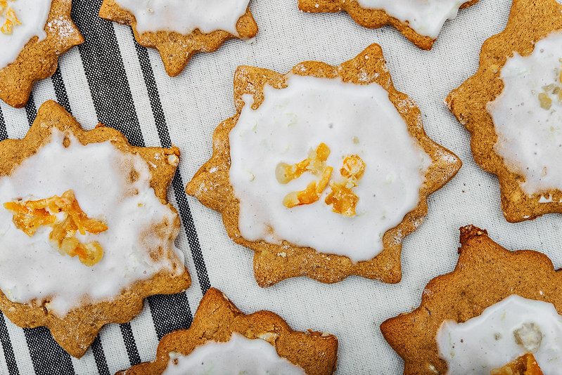 german gingerbread cookies Lebkuchen