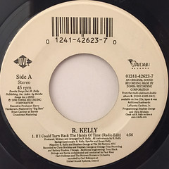 R.KELLY:IF I COULD TURN BACK THE HANDS OF TIME(LABEL SIDE-A)