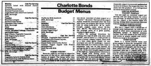 sun 1977-02-10 budget menus