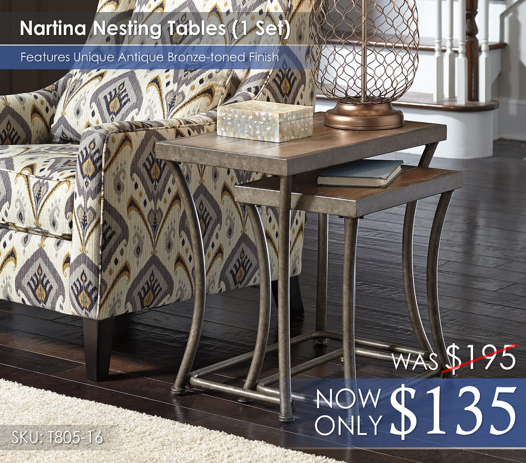 Nartina Nesting Tables T805-16