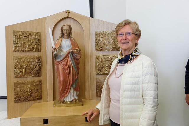 Bénédiction des statues de sainte Geneviève - #50ansdiocèse92