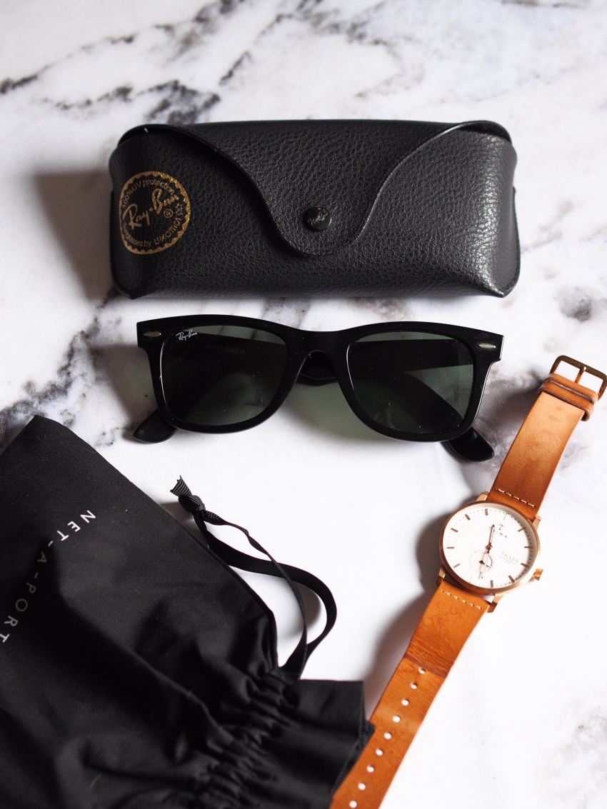 Ray-Ban Wayfarers, Triwa watch