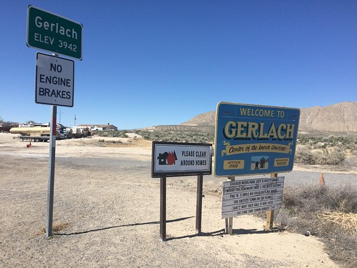 Drive to Gerlach, Road to Burning Man, Center of the Known Universe | by jdscott50