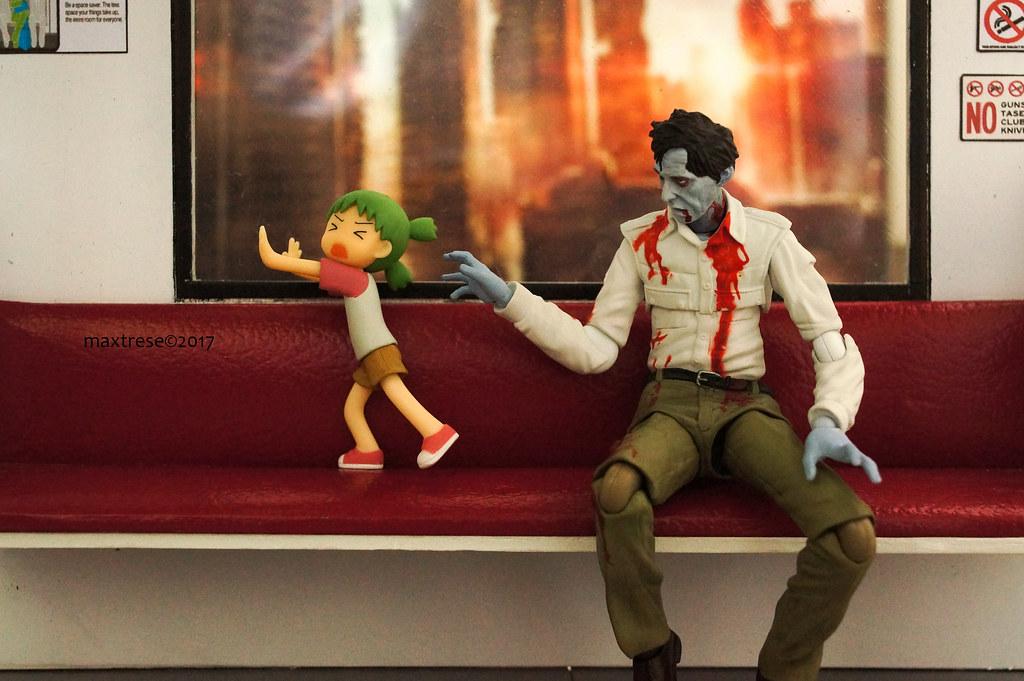 Yotsuba and Figma Flyboy Zombie