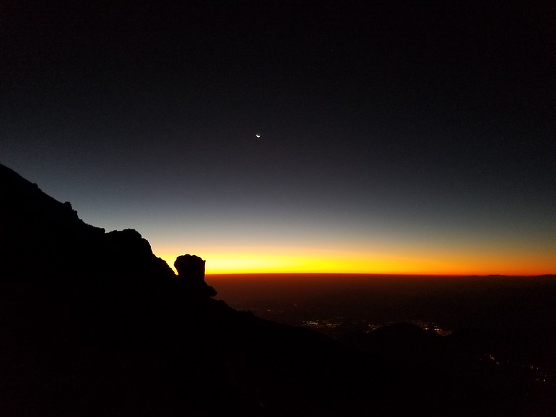 Pico de Orizaba • Sunrise over Orizaba