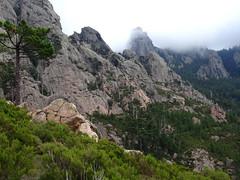Punta Samulaghja encore dans la brume
