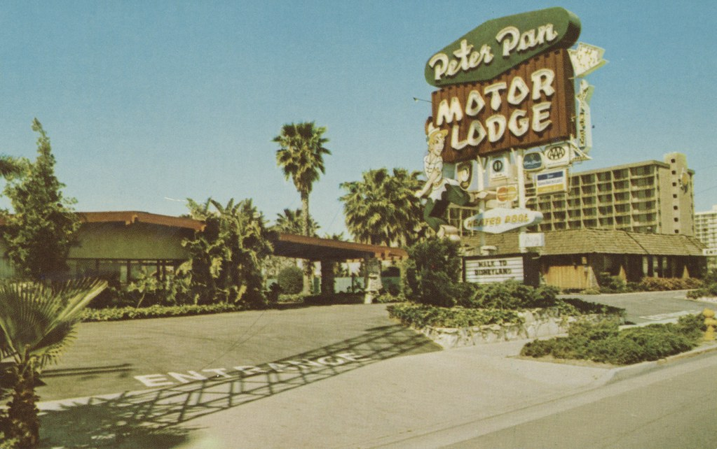 Peter Pan Motor Lodge - Anaheim, California