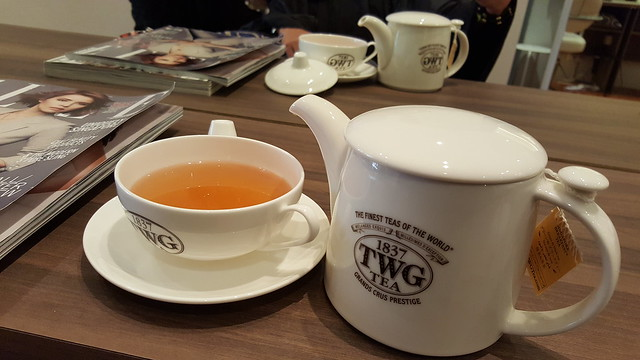 TWG Tea at The Comb!