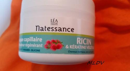 masque capillaire Ricin & Kératine de NATESSANCE