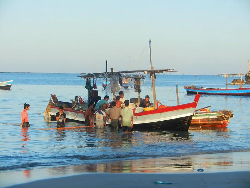 Нгапали рыбаки