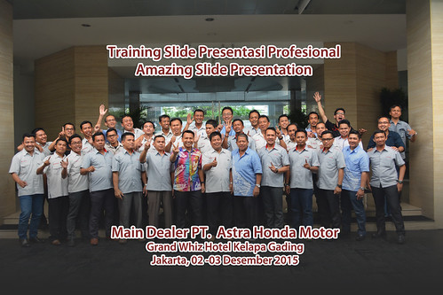 Workshop Slide Presentasi Profesional Amazing Slide Presentation Main Dealer PT AHM | by dhonyfirmansyah