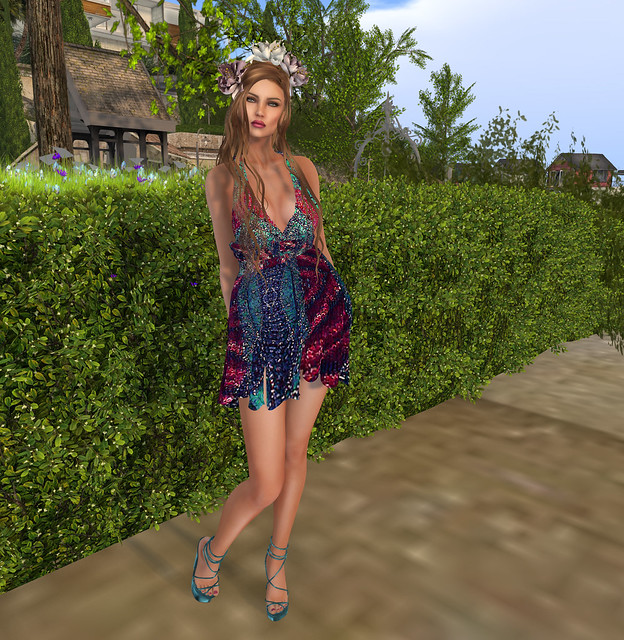 Janine dress , Sascha's Designs, photo taken @ Corlevoli Cove
