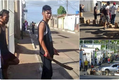 Saqueos y vandalismo se desvian de los locales a las Urbanizaciones en Ciudad Bolívar