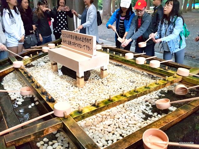 Hokkaido Shrine Chōzuya