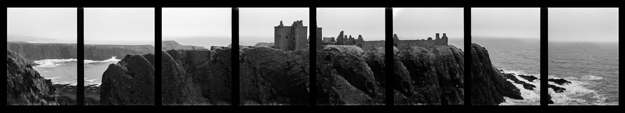 Dunottar Half Frame Panorama 2 of 2