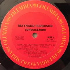 MAYNERD FERGUSON:CONQUISTADOR(LABEL SIDE-A)