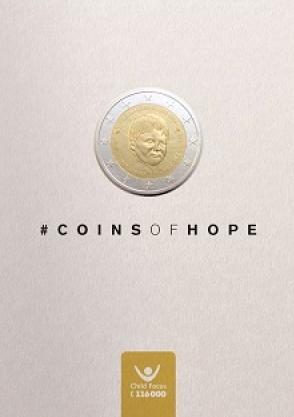 2 Euro Belgicko 2016, Child Focus coincard
