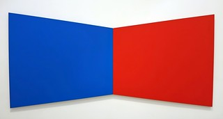 Blue Red - Ellsworth Kelly (3502) Noiselessened